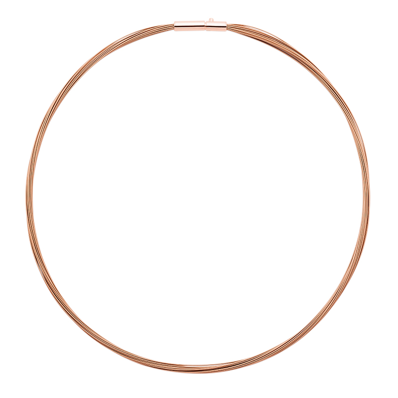 COLORE Collier, rose gold plated