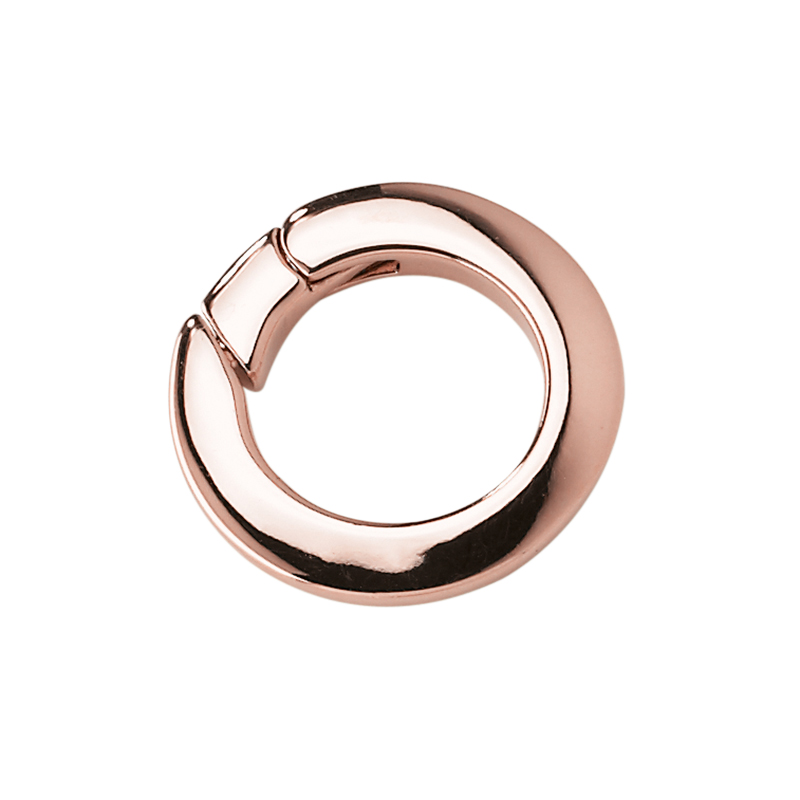 RONDO Pendant, rose gold plated