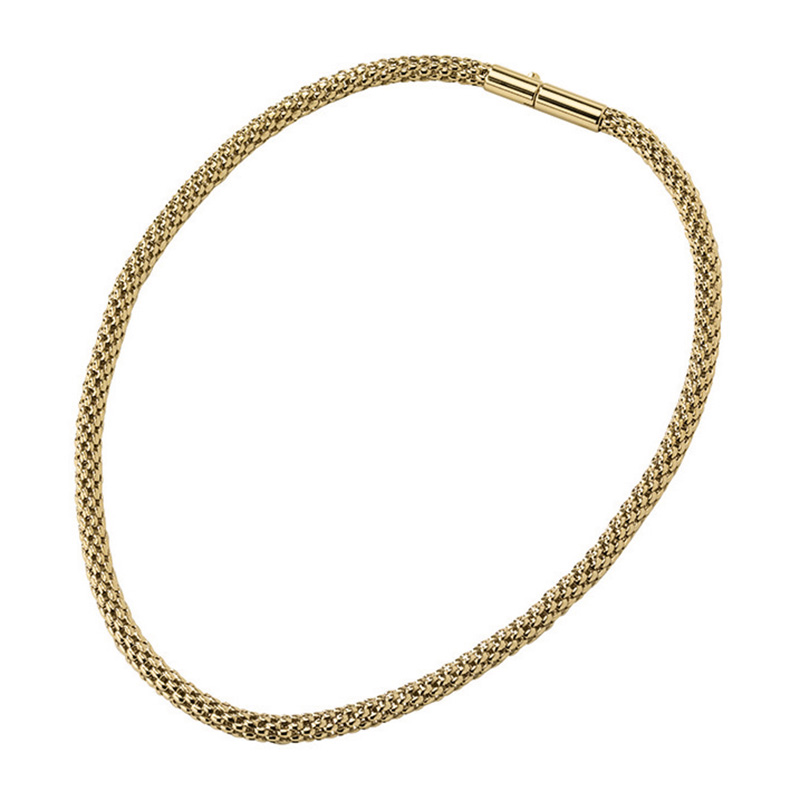 ROUNDER Necklace, gold plated