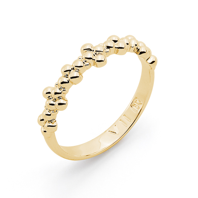 MIMOSA Ring, gold plated