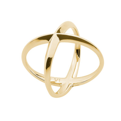 A SKY FULL OF STARS Ring, gold plated