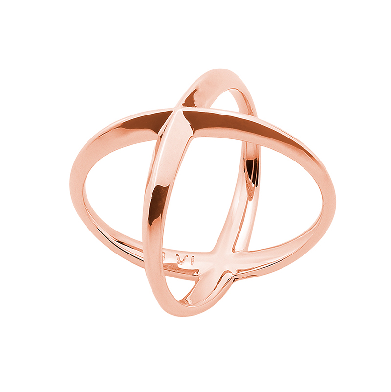 A SKY FULL OF STARS Ring, rose gold plated