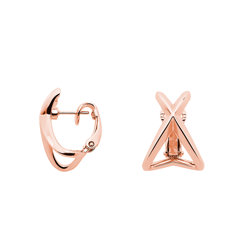 A SKY FULL OF STARS Ear Creoles, rose gold plated