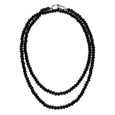 MAGIC ORCHIDEA Collier, rhodium plated, black