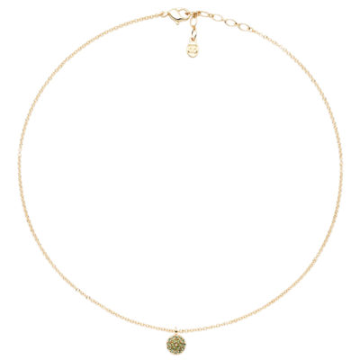SAINT-TROPEZ Necklace, gold plated, multicoloured