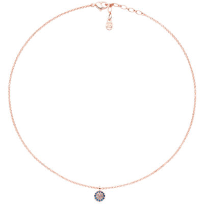 SAINT-TROPEZ Necklace, rose gold plated, multicoloured