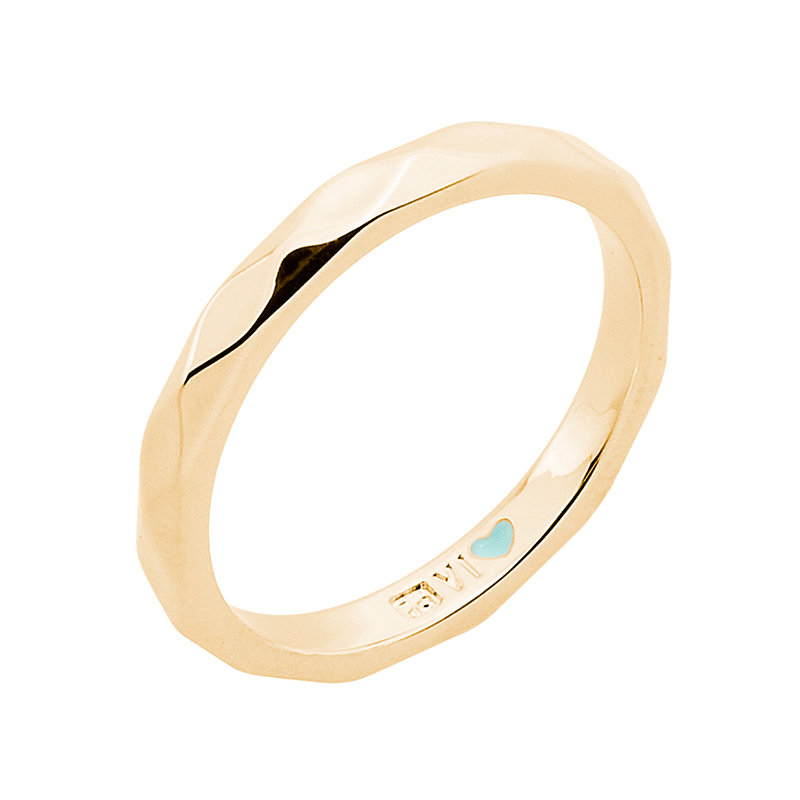 FROM MONDAY TO SUNDAY Ring, gold plated