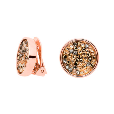 FORTUNA Earrings, rose gold plated, multicoloured