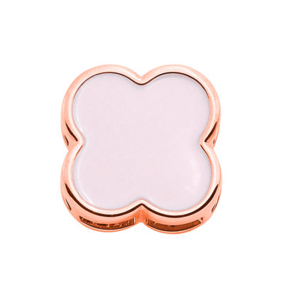 BIG CHIC Pendant, rose gold plated, light rose