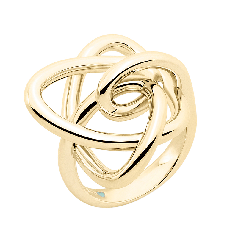 LUCKY UNIVERSE Ring, gold plated