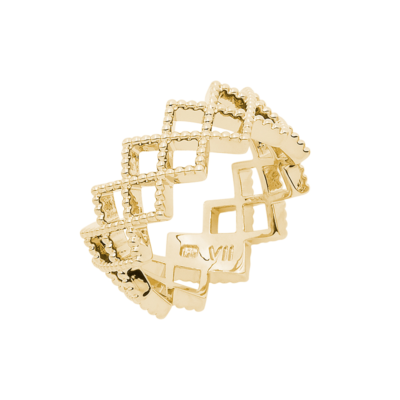 TOUJOURS Ring, gold plated