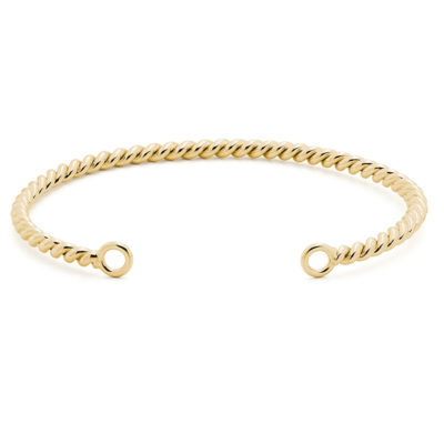 FORGET ME KNOT Bracelet, gold plated, multicoloured