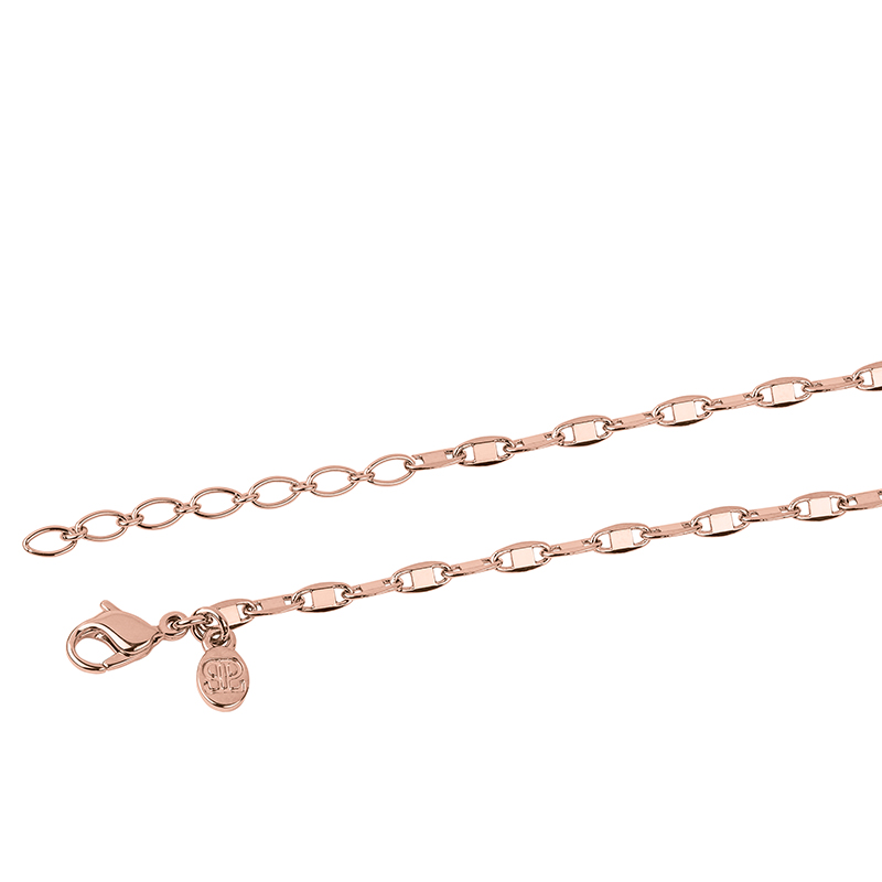 SHINY Necklace, rose gold plated