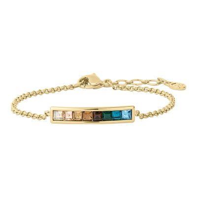 BREEZE Bracelet, gold plated, multicoloured