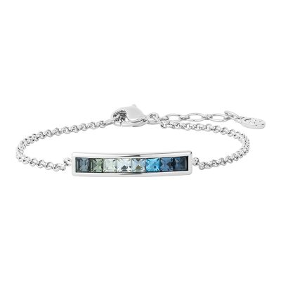 BREEZE Bracelet, rhodium plated, multicoloured