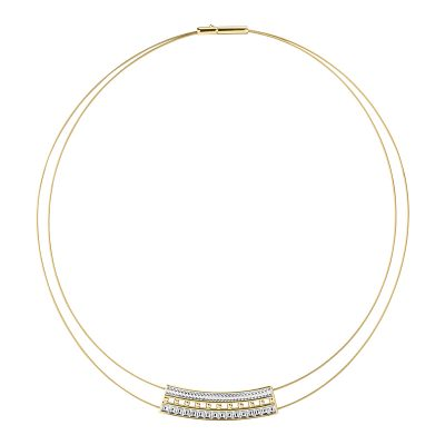 BABYLON Collier, gold plated
