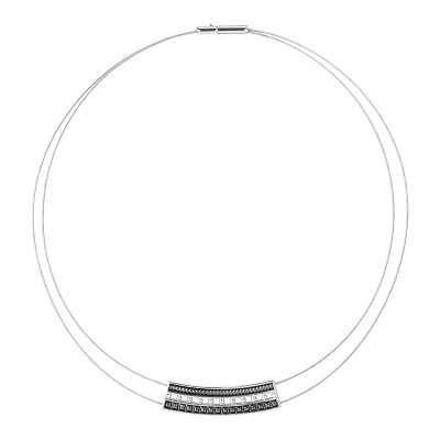 BABYLON Collier, rhodium plated