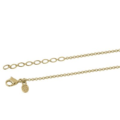 NEXUS Necklace, gold plated