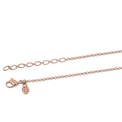 NEXUS Necklace, rose gold plated