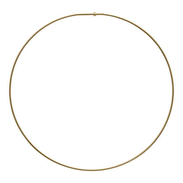 DELPHI Collier, New, gold plated, gold farbig