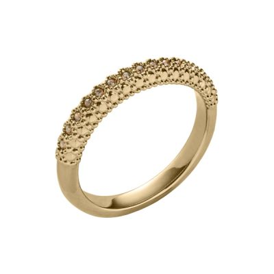 SPLENDOR Ring, New, gold plated, gold farbig