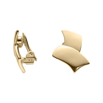 PEGASUS Ear Clips, New, gold plated