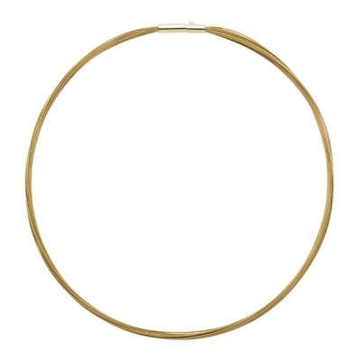 COLORE Collier, New, gold plated, gold farbig