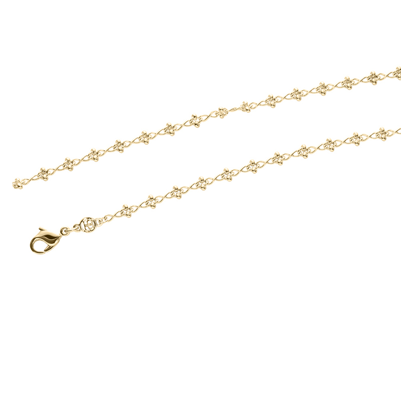 IRIS Necklace, gold plated