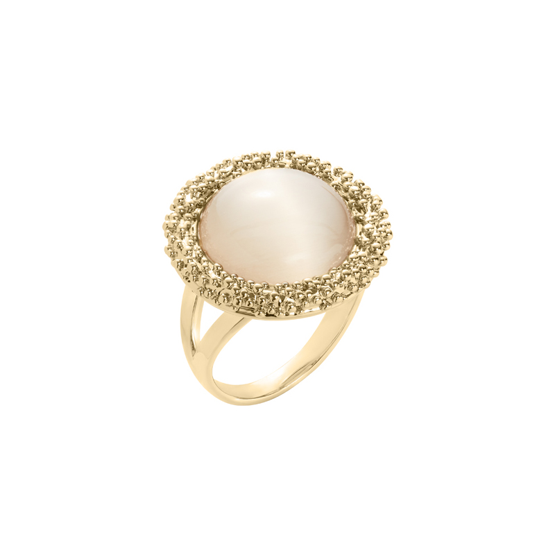 DAHLIA Ring, gold plated