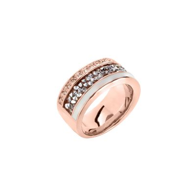 EUPHORIA Ring, rosè gold plated