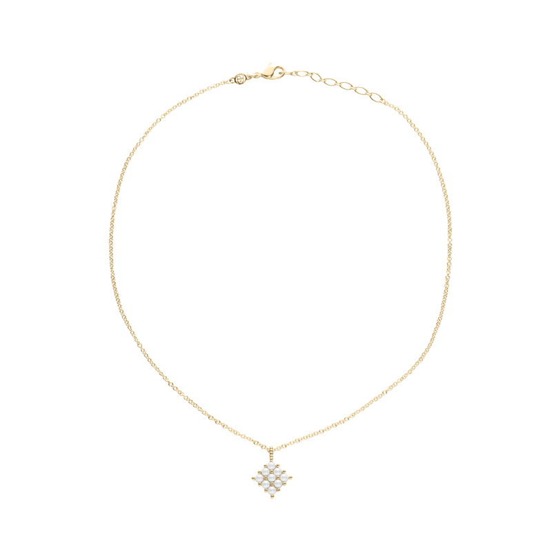 PETITE PEARL Necklace, gold plated