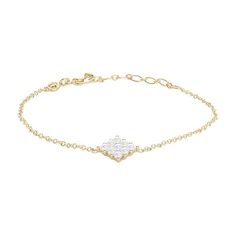 PETITE PEARL Bracelet, gold plated