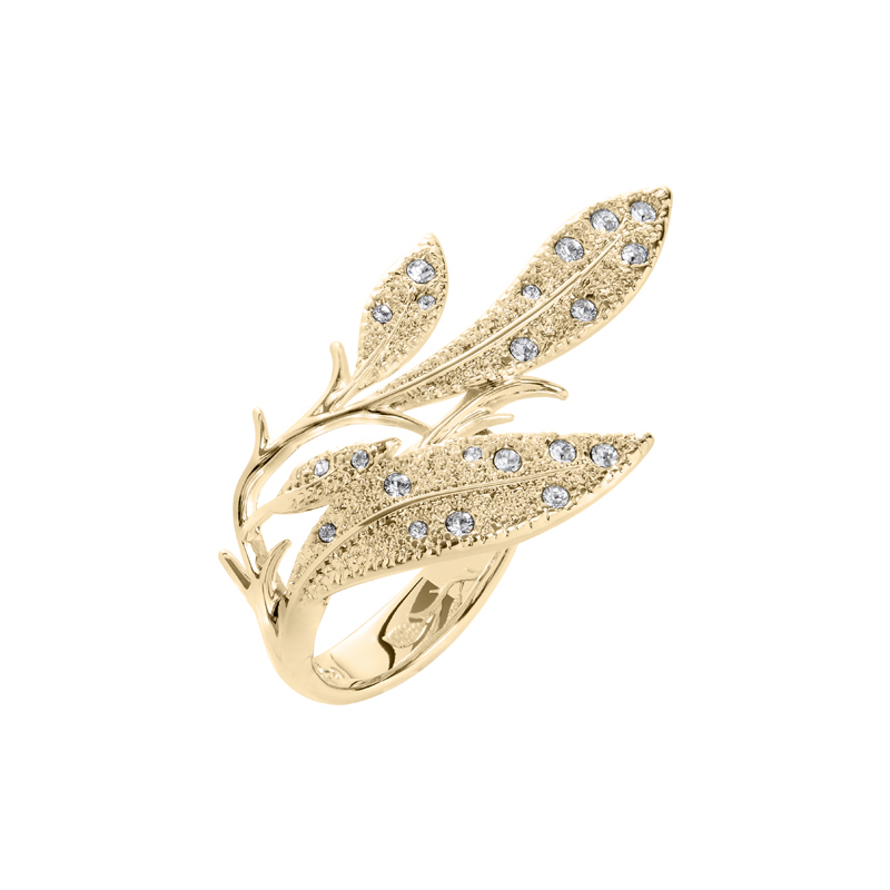 EDEN Ring, gold plated
