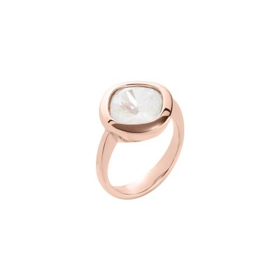 JOLIE Ring, rosè gold plated