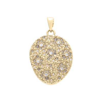 IRBIS Pendant, gold plated, multicolor