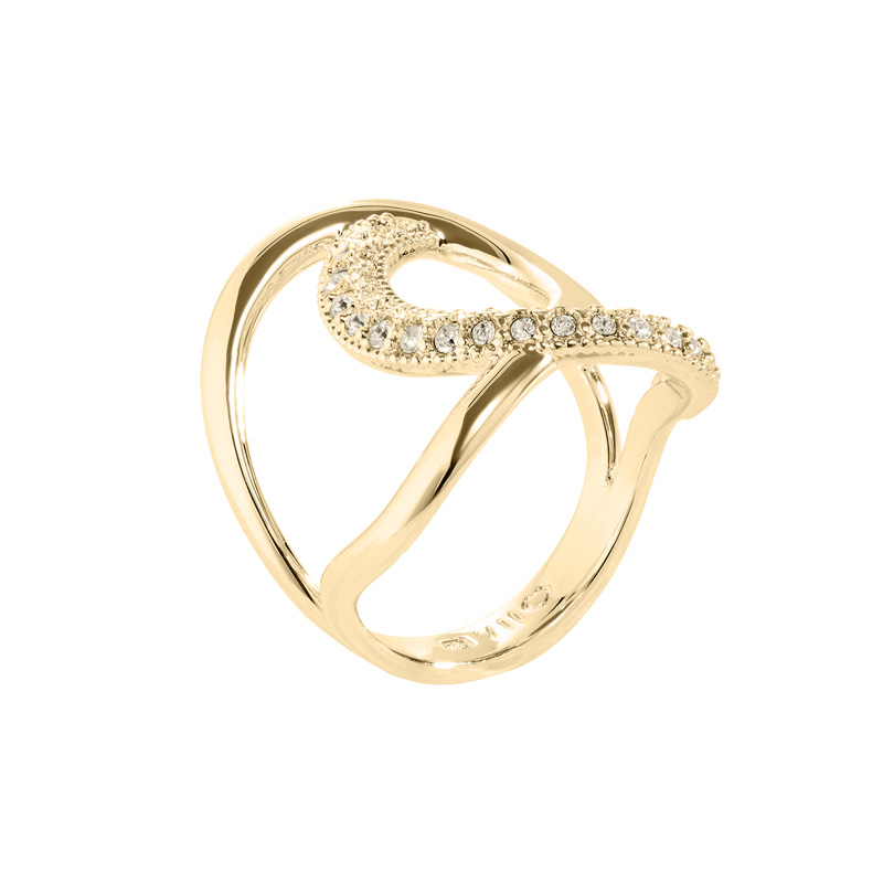 TALIA Rings, gold plated, gold coloured