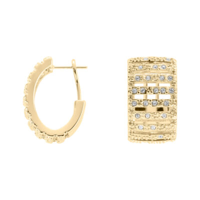 GRACE Rings, gold plated, cystal coloured